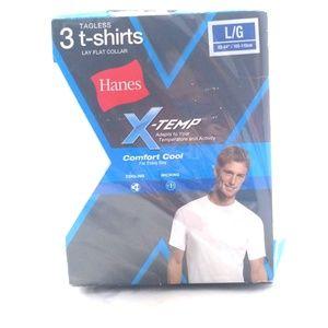 Hanes x-temp 3 tagless T-shirts